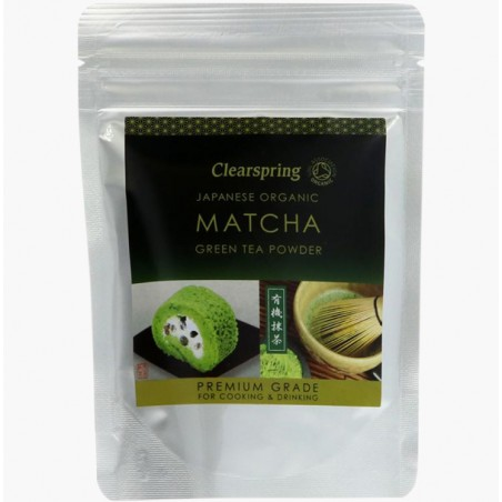 MATCHA CULINAIRE/BOISSON 40G - CLEARSPRING
