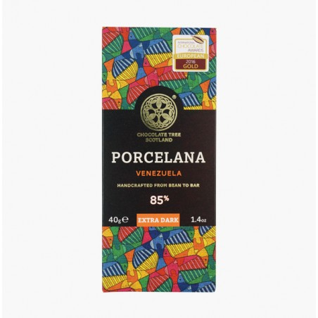 PORCELANA VEN. 85% 40G - CHOCOLATE TREE