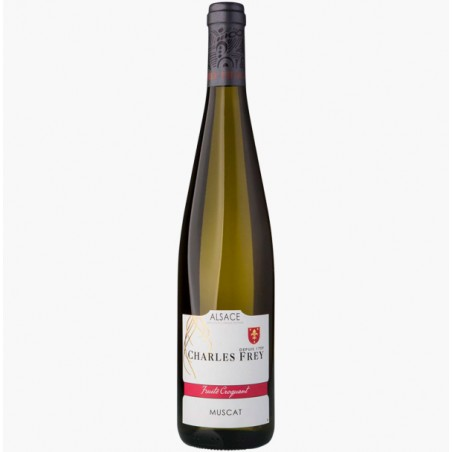 MUSCAT ALSACE AOP 750ML - DOMAINE CHARLES FREY